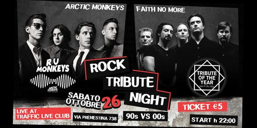 Faith No More + Arctic Monkeys Tribute Night
