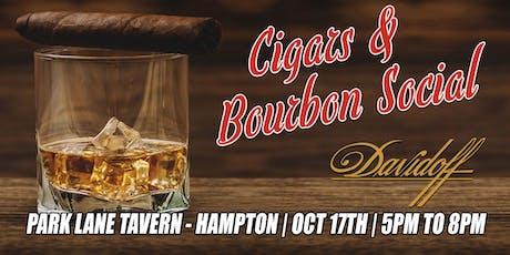 Davidoff Cigars and Bourbon Social tickets