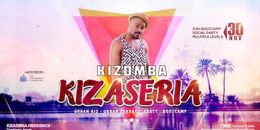 Kizaseria - Urban Kiz & Tarraxa Bootcamp & Social Edition