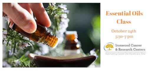Essentail Oils Class