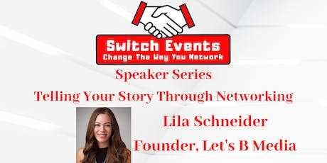 Switch Events - Northern NJ Networking + Guest Speaker tickets