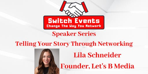 Switch Events - Northern NJ Networking + Guest Speaker