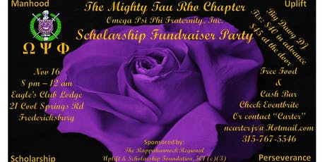 Tau Rho Chapter, Omega Psi Phi Birthday Bash & Scholarship Fundraiser tickets