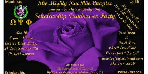 Tau Rho Chapter, Omega Psi Phi Birthday Bash & Scholarship Fundraiser