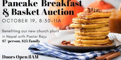 Pancake Breakfast & Basket Auction Fundraiser
