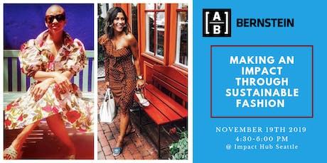 Making an Impact through Sustainable Fashion tickets