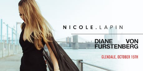 Becoming Super Woman with Nicole Lapin at DVF Glendale tickets