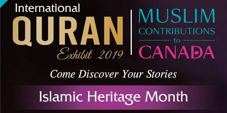 IHM: Closing Reception | Muslim Contributions to Canada & The Quran Exhibit tickets