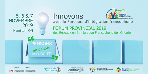 Forum Provincial des Réseaux en immigration francophone de l'Ontario