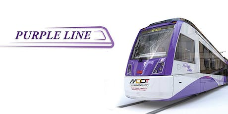 Purple Line Transit Project Outreach Fair tickets
