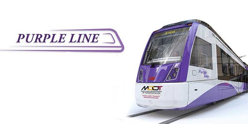 Purple Line Transit Project Outreach Fair