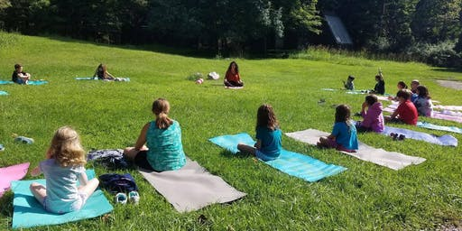 Eclectic Kids ages (6-12)- Connecting Yoga and Mindfulness through Art and Nature