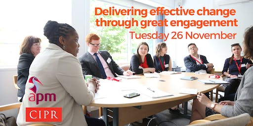 Delivering effective change through great engagement