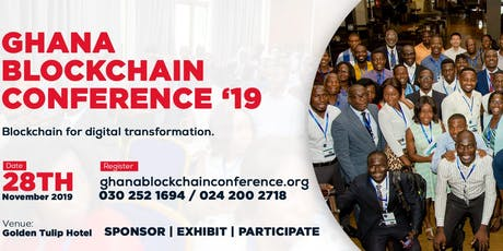 Ghana Blockchain Conference 2019 tickets