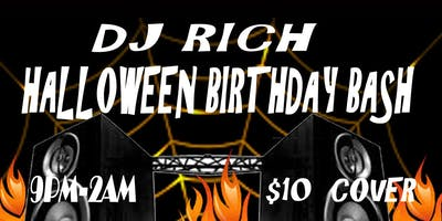 DJ RICH HALLOWEEN BIRTHDAY BASH