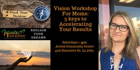 Vision Workshop for Moms: 3 Keys To Accelerating & Sustaining Your Results! tickets