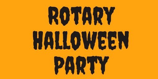 First Annual Rotary Halloween Party