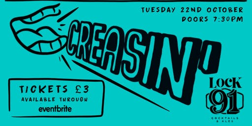 CREASIN' - Comedy Night