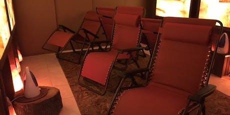 Himalayan Salt Lounge Sittings at Heart & Soul tickets