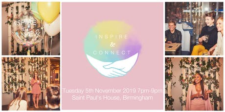 Inspire and Connect (Birmingham) Tuesday 5th November 2019 tickets