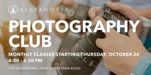 ARE Photography Club with Rob Andrew!