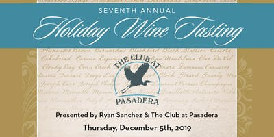 7TH ANNUAL HOLIDAY WINE TASTING EVENT