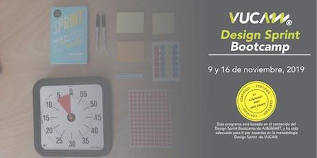Bootcamp de Design Sprint 2.0 entradas
