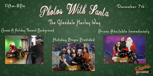 Photos With Santa : The Glendale Harley Way