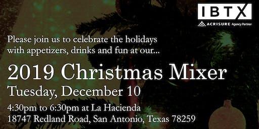 2019 IBTX San Antonio Christmas Mixer
