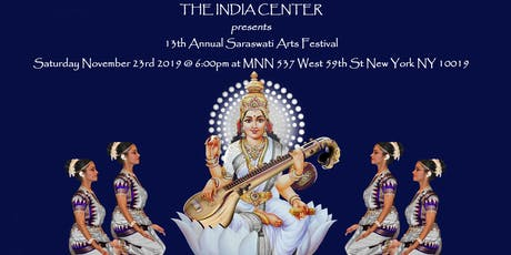 13th ANNUAL SARASWATI CLASSICAL ARTS FESTIVAL tickets
