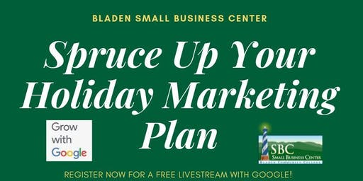 Spruce Up Your Holiday Marketing Plan (livestream)