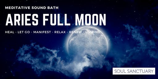 Aries Full Moon Sound Experience
