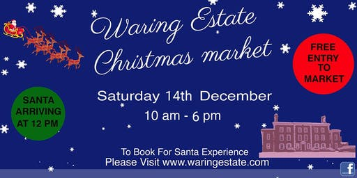 Santa At The Waring Estate 2019