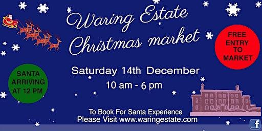 Santa At The Waring Estate 2019