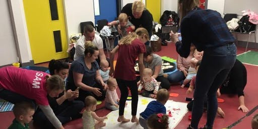 Family messy play- slime and under 5s event