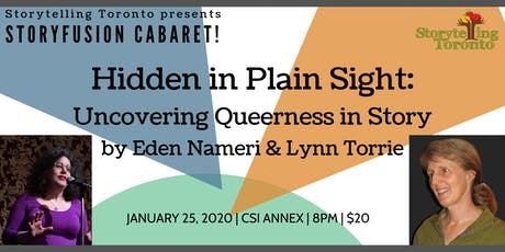 Hidden in Plain Sight by Eden Nameri and Lynn Torrie tickets