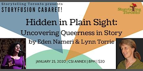 Hidden in Plain Sight by Eden Nameri and Lynn Torrie tickets