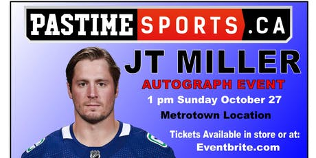 JT Miller Autograph Event tickets