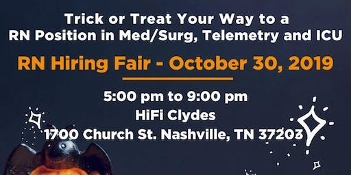 RN Hiring Event - Med/Surg, TELE, ICU and More!