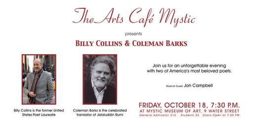 Billy Collins at The Arts Café Mystic