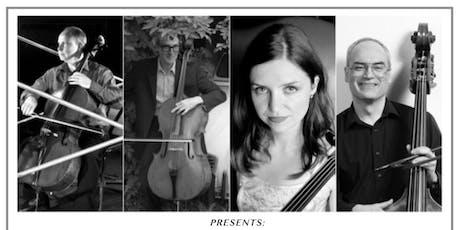 Basso Nova Cello Bass Quartet and the Two Freddys in Upper Musquodoboit, NS tickets