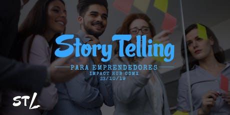 Taller de StoryTelling para Emprendedores entradas
