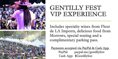 Gentilly Festival VIP Experience tickets