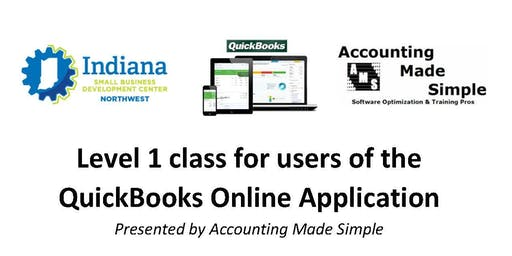"Level 1 class for users of ""QuickBooks Online Applications"""