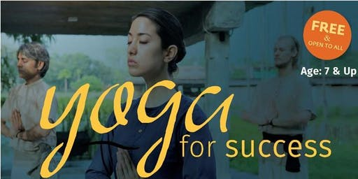 Yoga For Success  @ South Irving Library