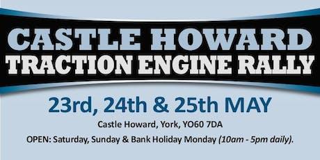 Castle Howard Traction Engine Rally 2020 - Public Caravan/Motorhome/Camping tickets