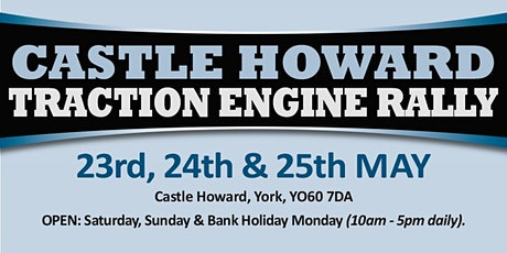 Castle Howard Traction Engine Rally 2020 - Public Caravan/Motorhome/Camping tickets