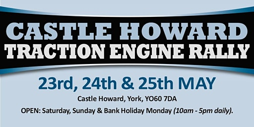 Castle Howard Traction Engine Rally 2020 - Public Caravan/Motorhome/Camping