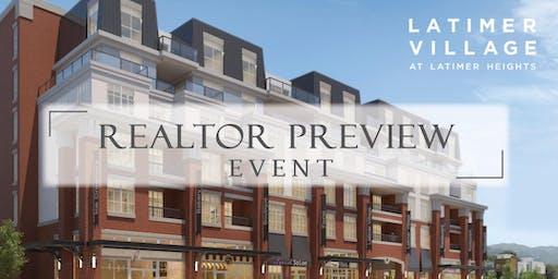 Latimer Village Realtor Preview Event