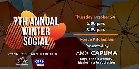 CAPUMA - WINTER SOCIAL tickets